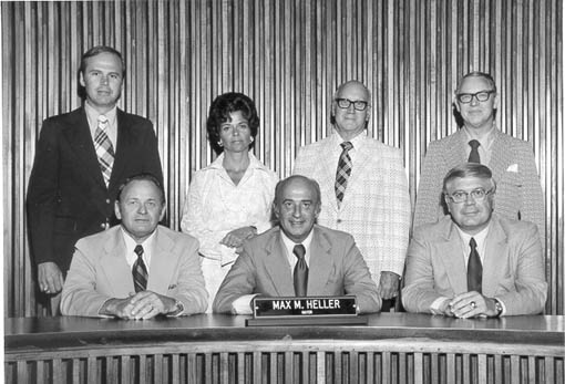 1973 to 1975 City Council