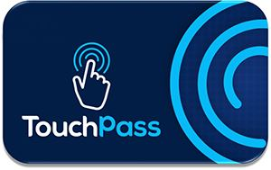 Image showing a Touchpass card